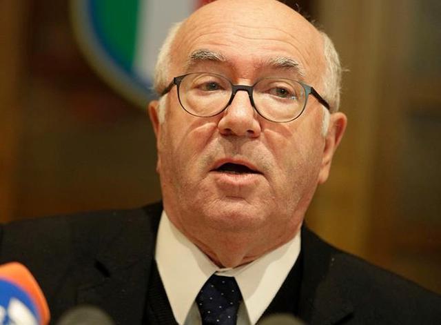 Il presidente Dimissionario Carlo Tavecchio, foto: Fonte Web