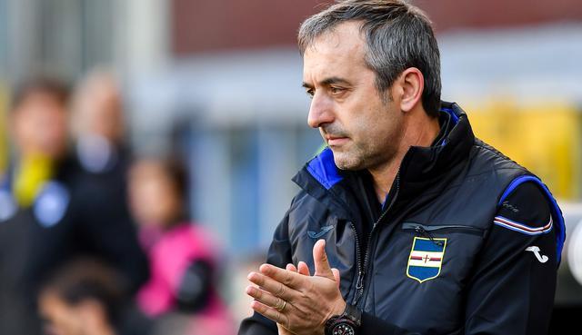 Il tecnico Marco Giampaolo della Sampdoria, foto: Fonte Web