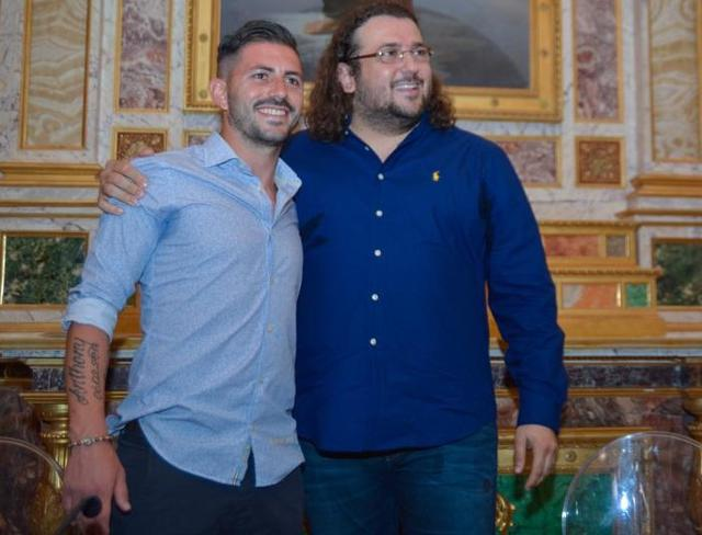 Strambelli e Columella durante la presentazione ufficiale, foto: Emanuele Taccardi