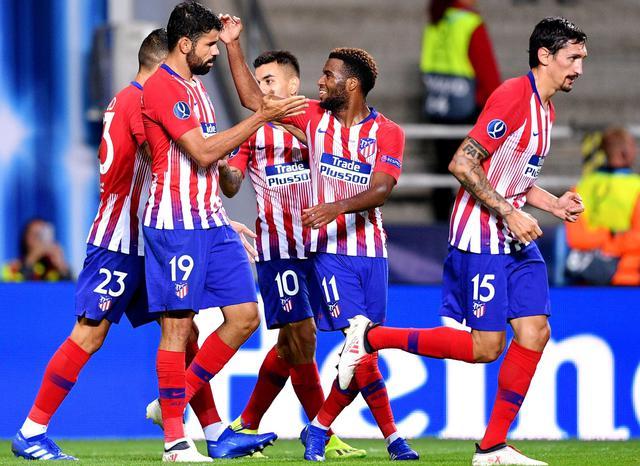 L'esultanza dell'Atletico Madrid, foto: Uefa.com
