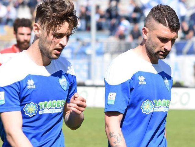 I difensori Di Sabatino e De Franco, foto: Sandro Veglia