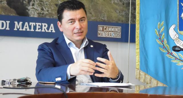 L'assessore allo sport Giuseppe Tragni, FOTO: TUTTOMATERA.COM