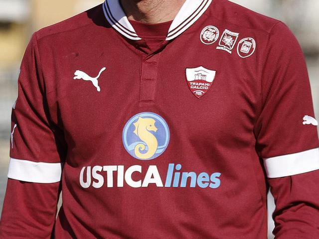 La maglia del Trapani, foto: Fonte Web