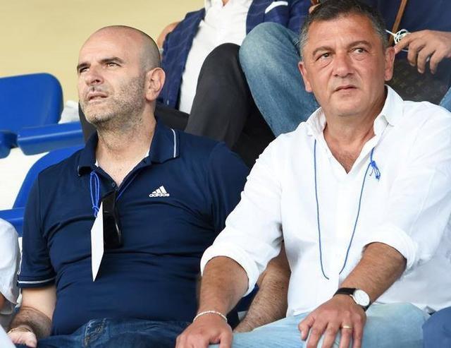 Il presidente Andrisani e l'avvocato Ripoli, foto: Sandro Veglia