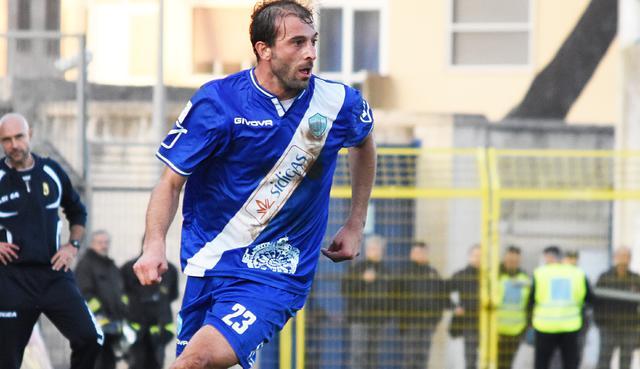 L'attaccante Gianvito Plasmati, foto: Sandro Veglia