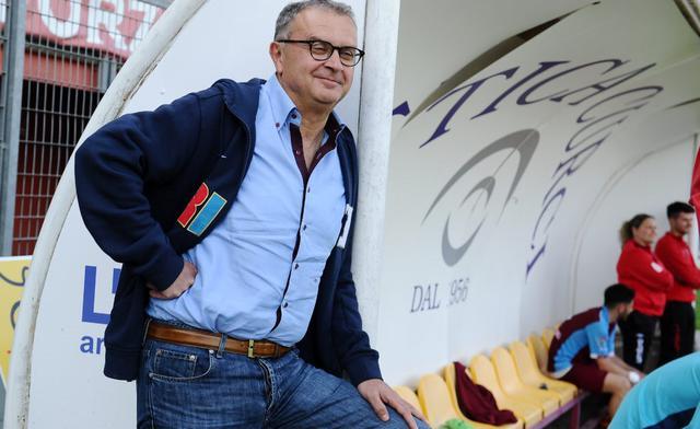 Il presidente Riccardo Curci del Rieti, foto: Fonte Web