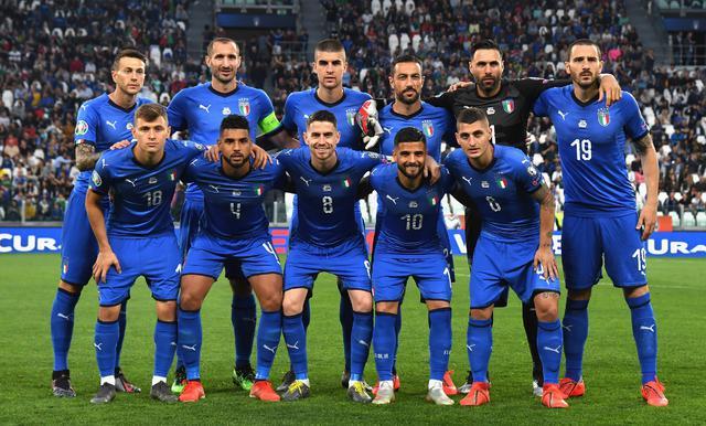 L'undici azzurro, FOTO: FIGC.IT - CLAUDIO VILLA