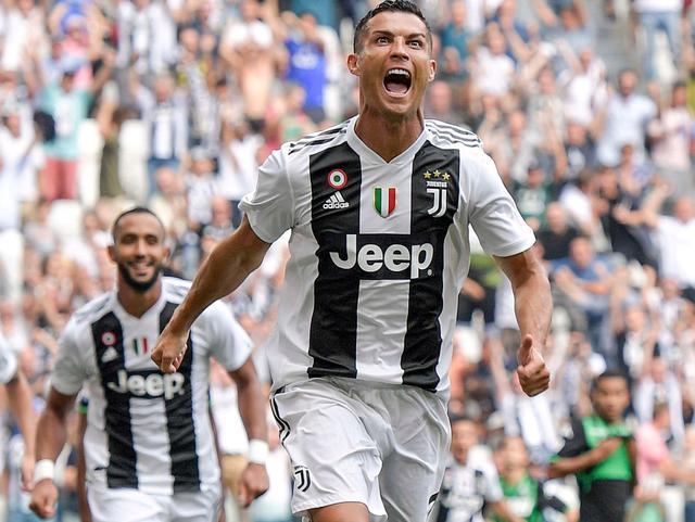L'esultanza di Cristiano Ronaldo, foto: Fonte Web