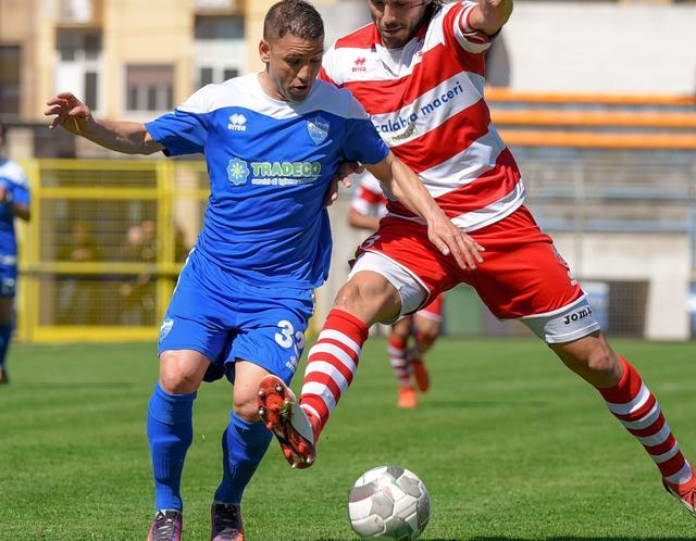 L'esterno offensivo Filippo Tiscione in azione, foto: Emanuele Taccardi