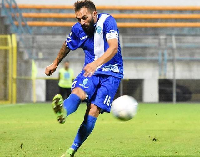 Il centrocampista Marian Galdean, foto: Sandro Veglia