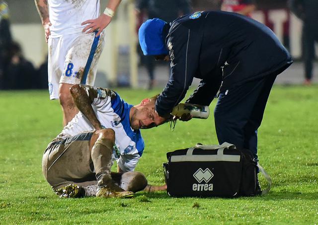 Il difensore Stefano Scognamillo, foto: CosenzaChannel.it