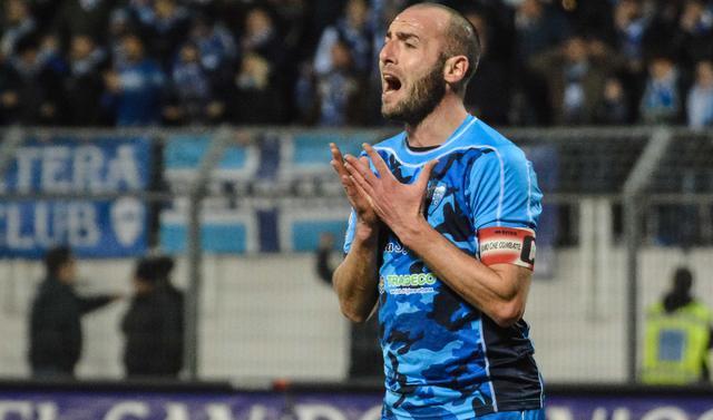 Il centrocampista Gaetano Iannini, foto: Emanuele Taccardi