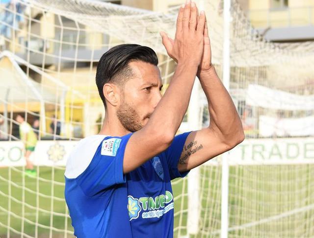 Il centrocampista Andrea De Falco, foto: Sandro Veglia