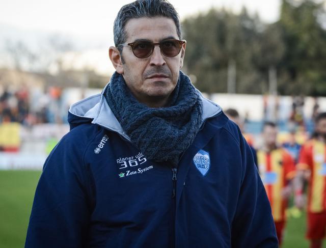 L'allenatore Pasquale Padalino, foto: Emanuele Taccardi