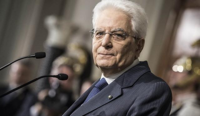Il presidente della Repubblica Sergio Mattarella, FOTO: FONTE WEB