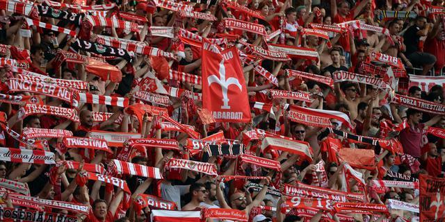 I tifosi della Triestina, FOTO: FONTE WEB