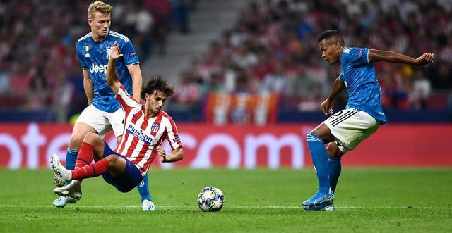 Una fase di Atletico Madrid-Juventus, FOTO: UEFA.COM