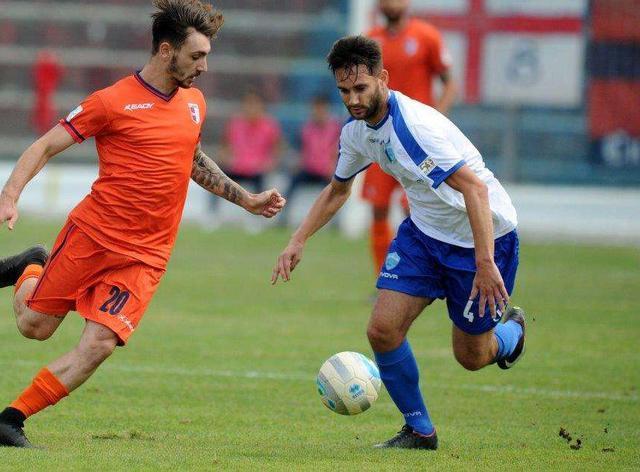 Il centrocampista Davide Corso, foto: Francesco Mazzitello