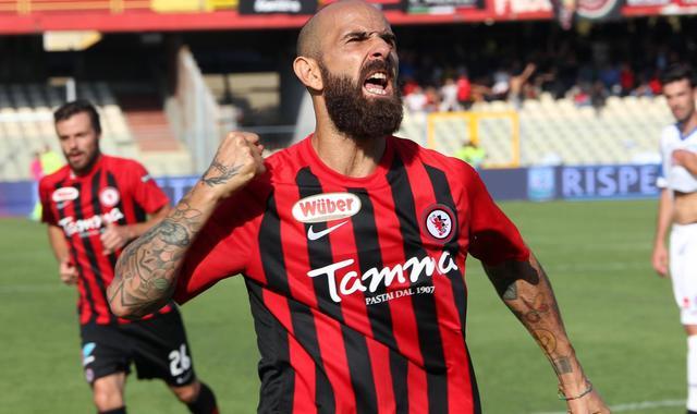 L'attaccante Fabio Mazzeo, foto: Fonte Web