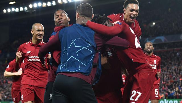L'esultanza dei Reds, foto: Uefa.com
