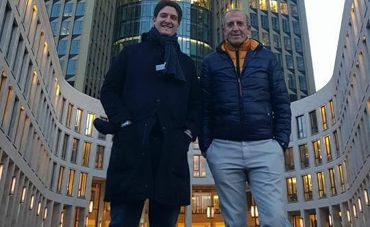 Michele Maggio e il figlio Alessio, FOTO: FONTE WEB