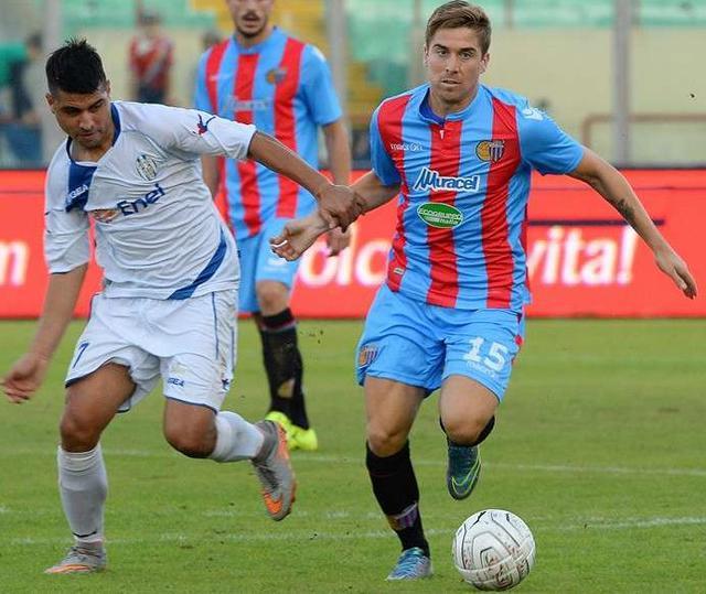 Il centrocampista Gianluca Musacci, foto: Fonte Web
