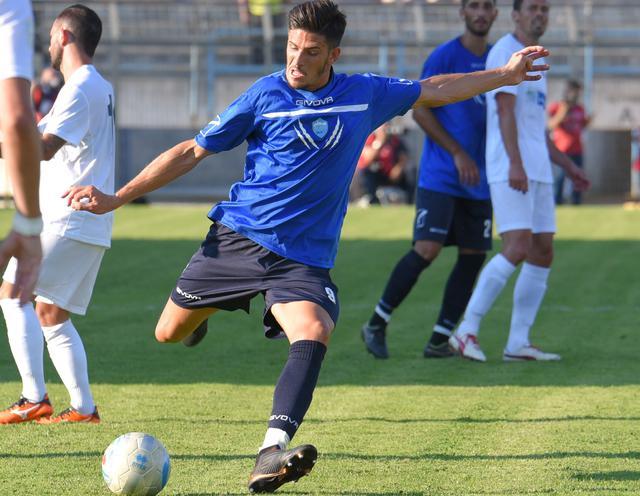 L'attaccante Gaston Corado, foto: Emanuele Taccardi