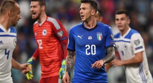 L'attaccante Federico Bernardeschi, FOTO: FIGC.IT