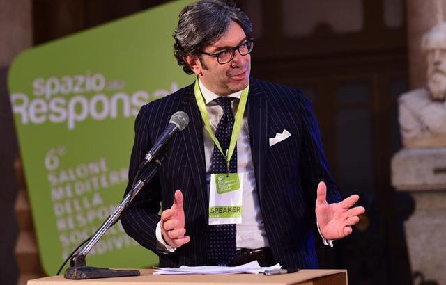 Il vice presidente Rocco Sassone, foto: Fonte Web