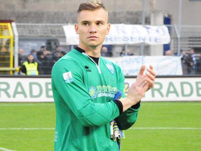 Il portiere Adnan Golubovic, foto: Sandro Veglia