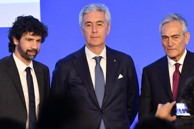 I tre candidati questa mattina, foto: Tuttomercatoweb.com