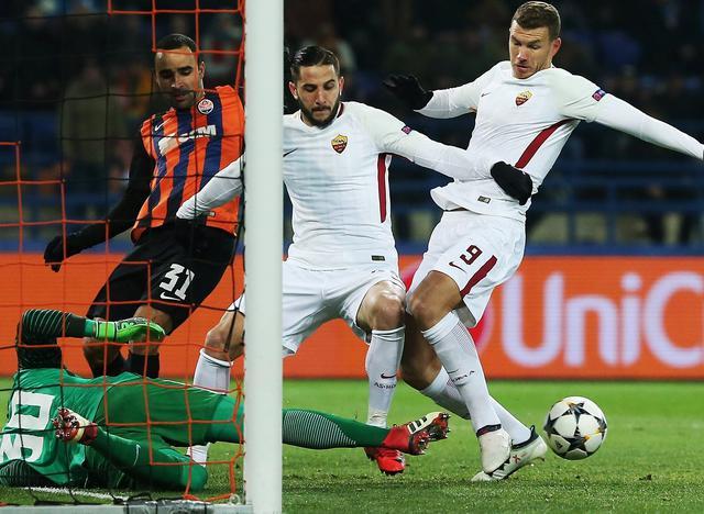 Una fase di Shakhtar-Roma, foto: Uefa.com