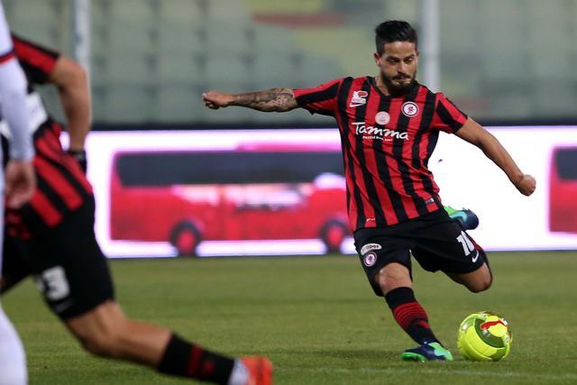 L'attaccante Vincenzo Sarno, foto: Fonte Web
