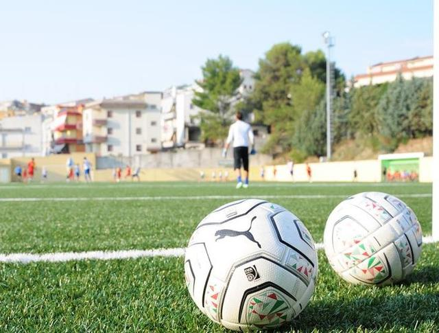 Il pallone del match, foto: Sandro Veglia