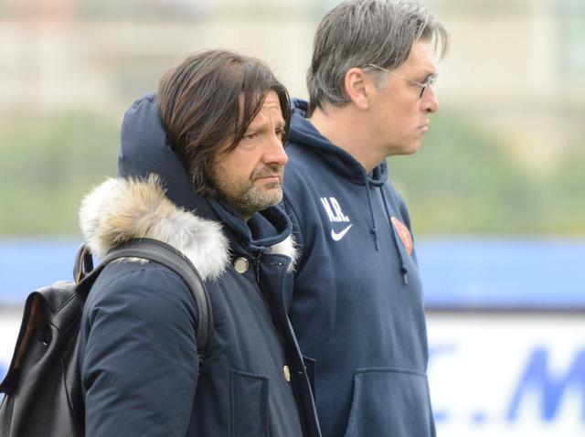 Il presidente Caiata e il tecnico Ragno, foto: Fonte Web