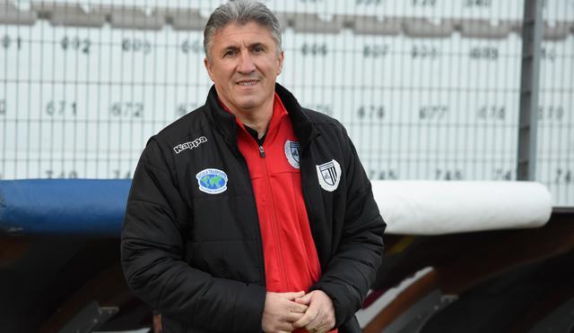 Il tecnico Vincenzo Torrente, foto: Sandro Veglia