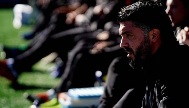 Il tecnico Rino Gattuso, foto: SportMediaset.it