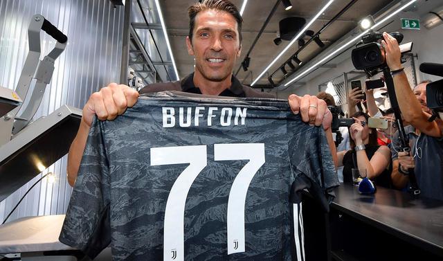 Gigi Buffon, FOTO: JUVENTUS.COM