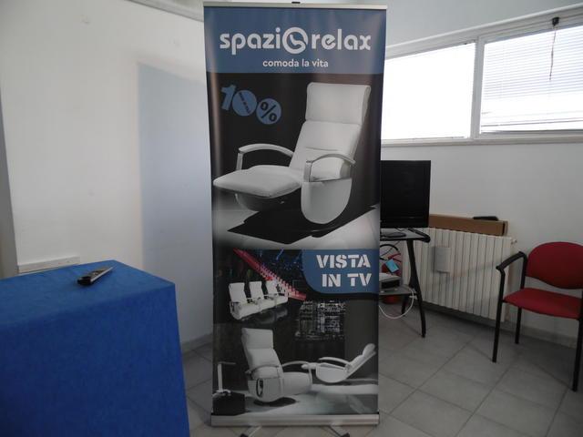 La locandina della Spazio Relax, foto: TuttoMatera.com