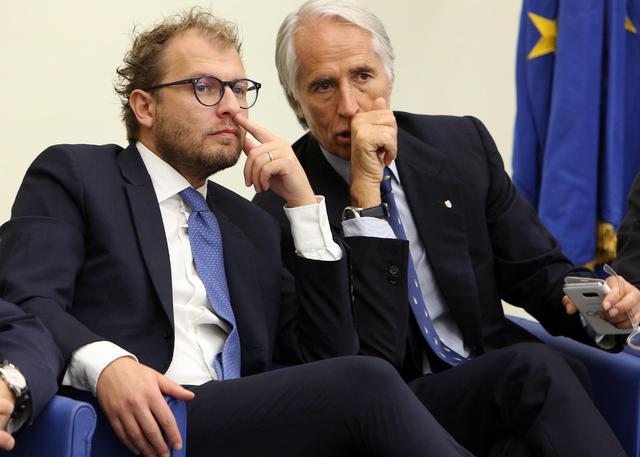 Luca Lotti e Giovanni Malagò, foto: Fonte Web