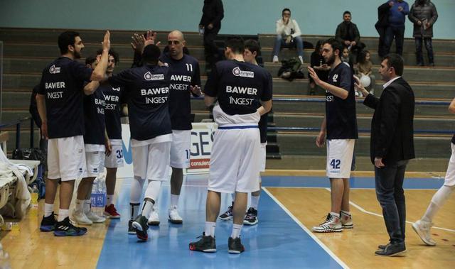 Il roster dell'Olimpia Matera, foto: Roberto Linzalone