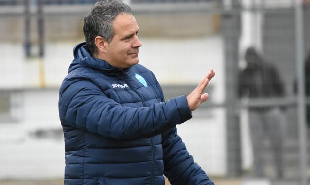 L'allenatore Eduardo Imbimbo, foto: Sandro Veglia