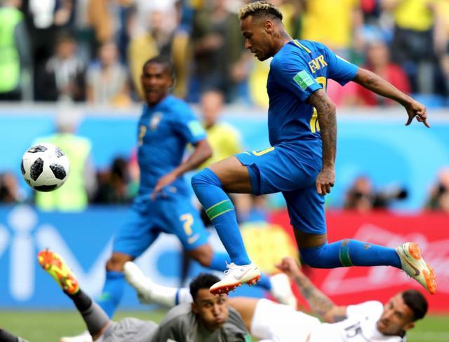 La rete del raddoppio di Naymar nel recupero, foto: Fifa.com