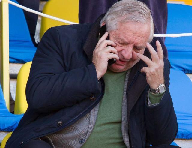 Il presidente Piero Camilli della Viterbese, foto: Fonte Web