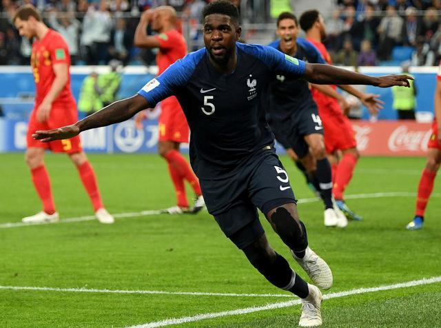 L'esultanza del difensore Umtiti, foto: Fifa.com