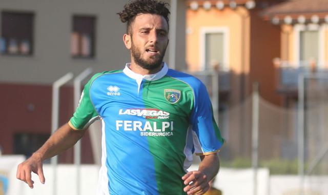 L'attaccante Andrea Bracaletti, foto: Fonte Web