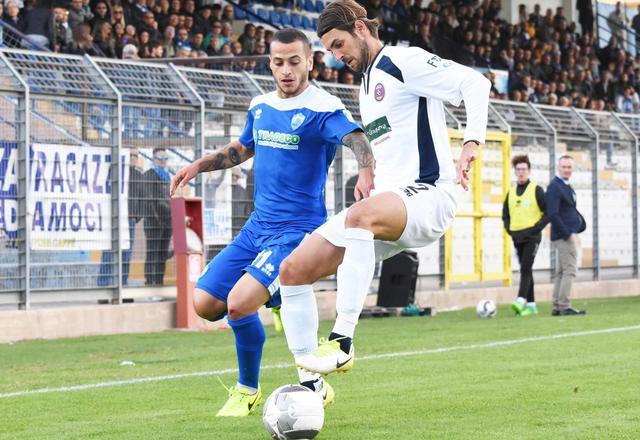 Una fase del match, foto: Sandro Veglia - MateraCalcioStory.it
