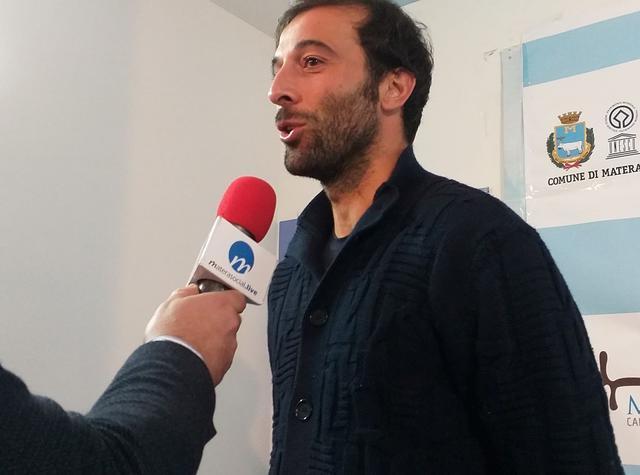 L'attaccante Gianvito Plasmati, foto: TuttoMatera.com