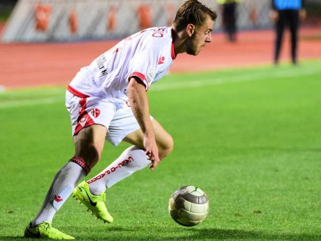 Il centrocampista Carlo De Risio, foto: Fonte Web
