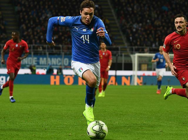 L'esterno offensivo Federico Chiesa, foto: Figc.it